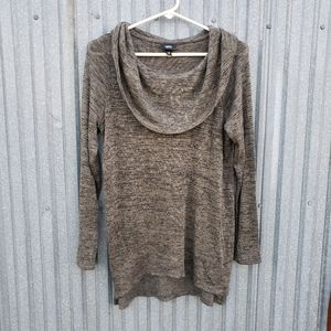 Mossimo Sweater Cowl Neck Green Size Extra Small